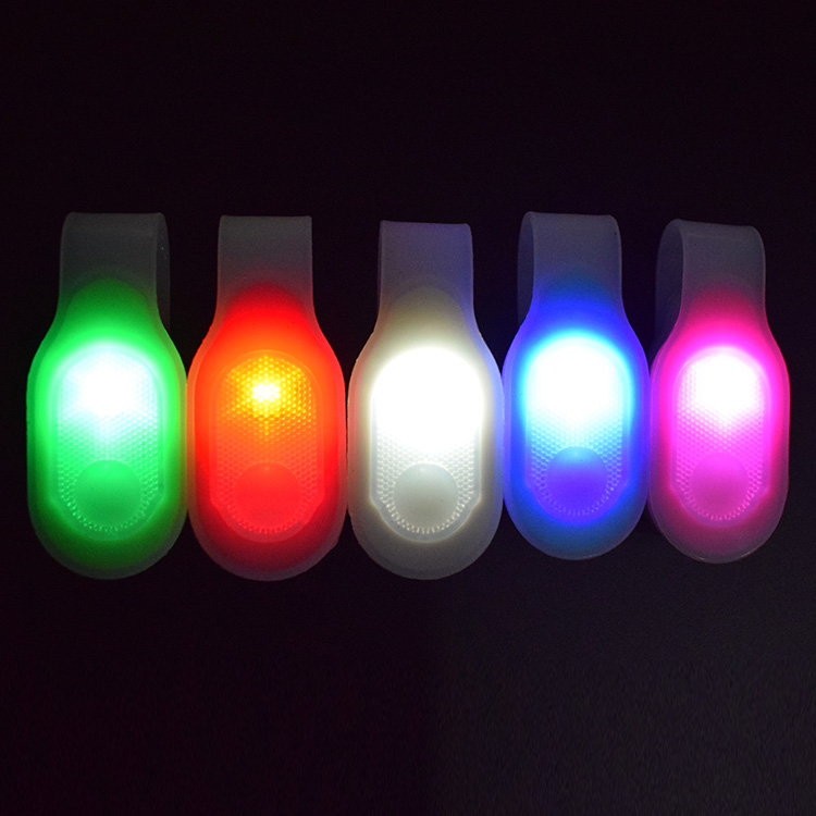 Flexible Silicone Clips On Clothing LED Magnet Light Promotional LED Magnetic Light